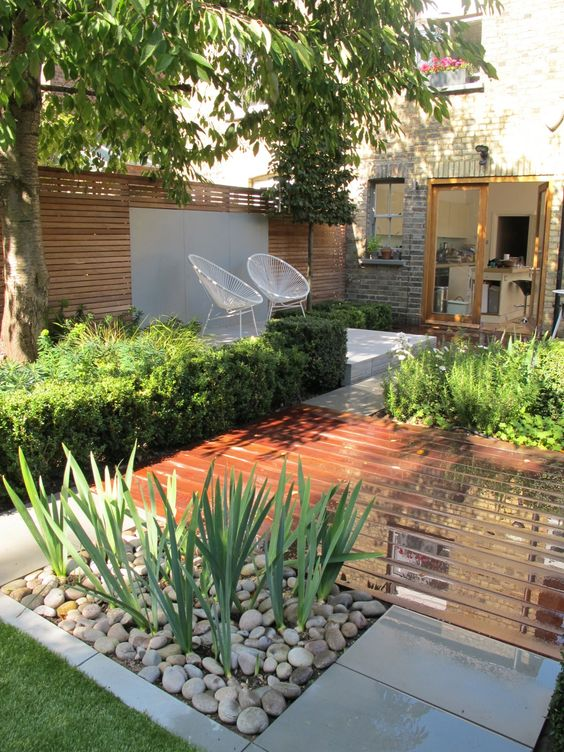 50 fotos de jardins planejados que v o inspirar voc - Landscaping for small spaces gallery ...