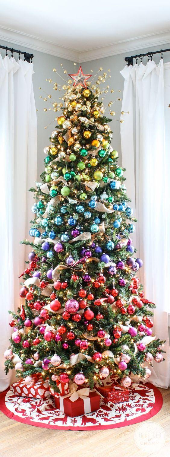 Decora O De Natal 45 Fotos Que V O Inspirar Voc  -> Decoracao Para Sala De Aee