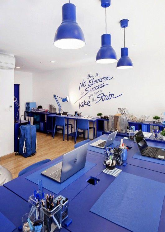 decoracao-de-escritorio-de-trabalho-azul