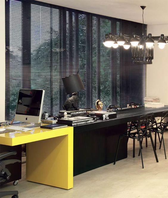 decoracao-de-escritorio-de-trabalho-preto-amarelo