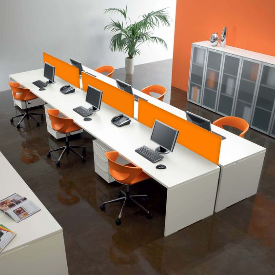 Decora o para ambientes de trabalho 55 modelos - Interior design schools in alabama ...