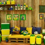 17 Modelos de Decoração para Copa do Mundo 2014