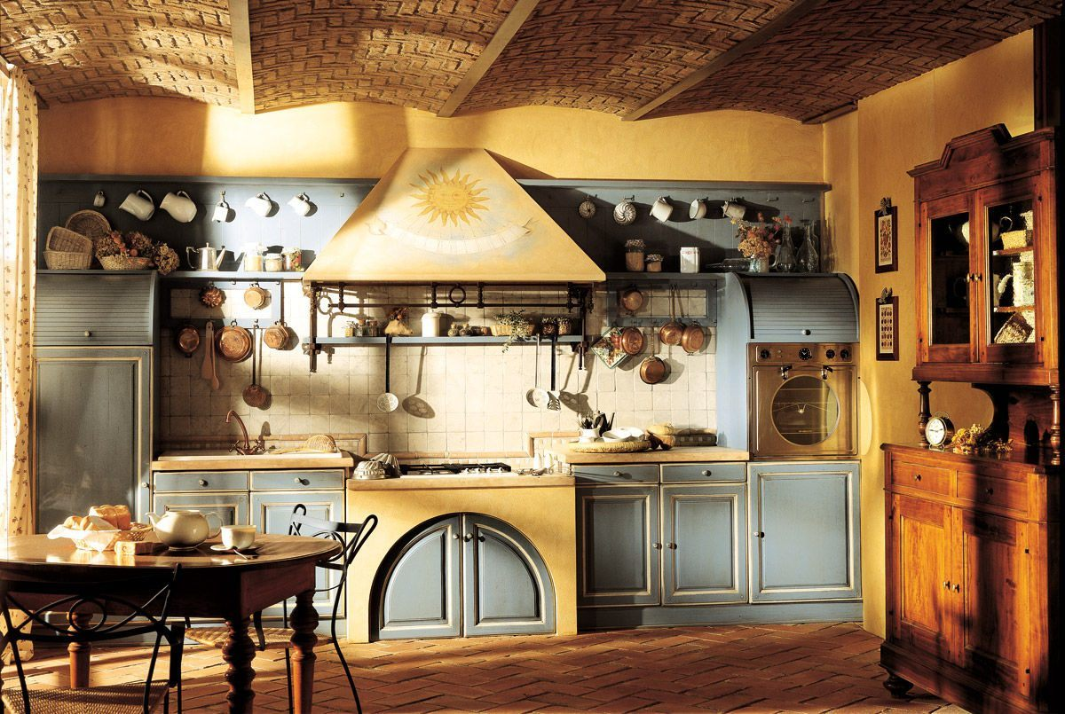 14 modelos de decora o de cozinha r stica for Cocinas coloniales modernas