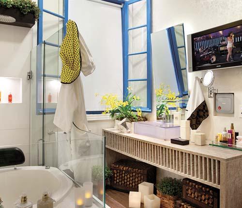 ideias decoracao banheiro pequeno – Doitricom -> Banheiro Pequeno Ideias Criativas