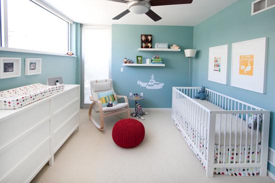 Decoraç u00e3o de Quartos de Beb u00ea masculino simples # Decoração De Quarto De Bebe Pequeno Masculino