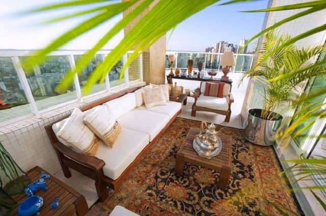 decoracao-rustica-para-varanda-de-apartamento