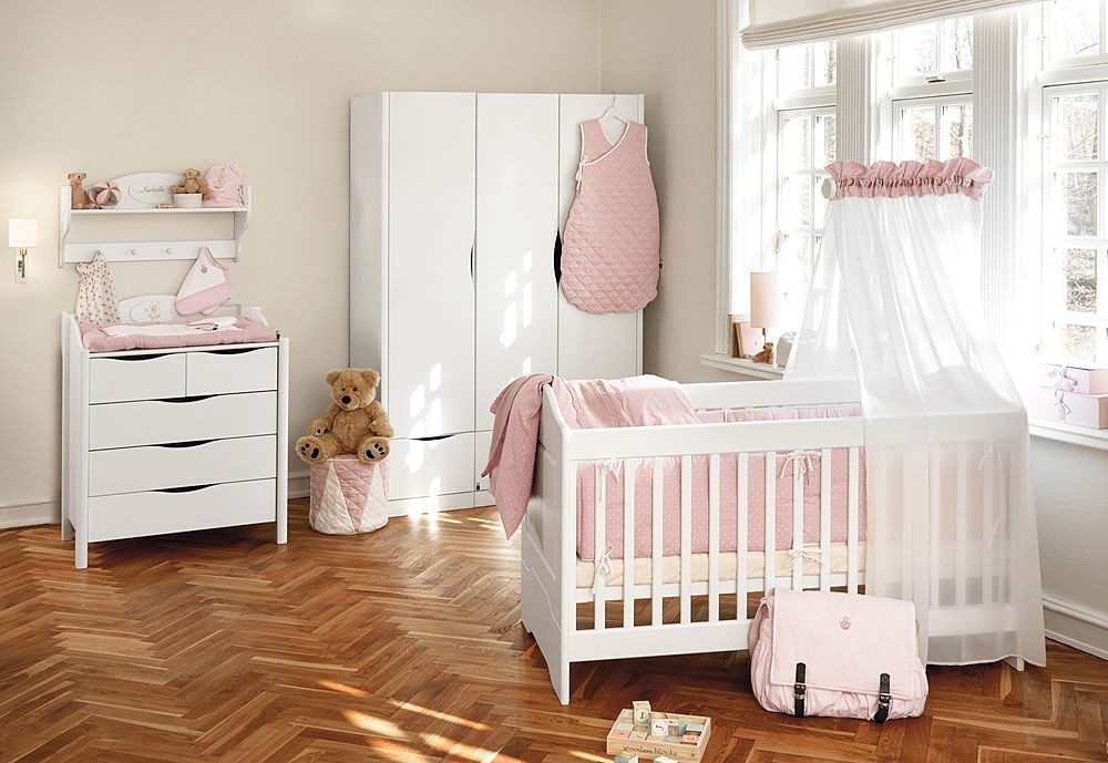 Dicas para decorar o quarto do bebe pediatra virtual - Decoracion habitacion bebe nina ...