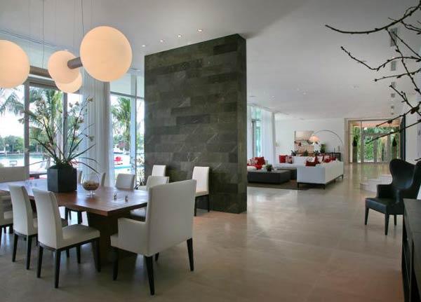 12 modelos para decora o de sala de jantar for Sala de estar de mansiones