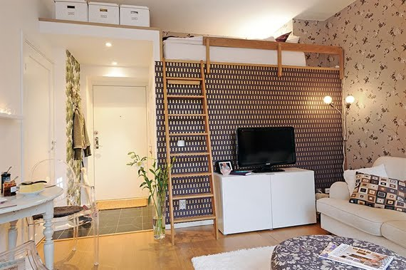 decoracao de uma sala pequena : decoracao de uma sala pequena:15 Modelos criativos para Decoração de Salas pequenas