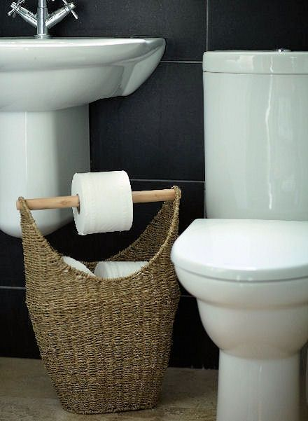 15 Modelos criativos para Decoração de Banheiros -> Banheiro Pequeno Ideias Criativas