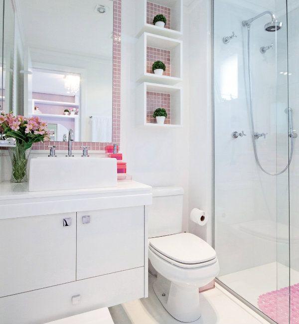 Ideias criativas para Decoração de Banheiros pequenos -> Banheiro Pequeno Ideias Criativas