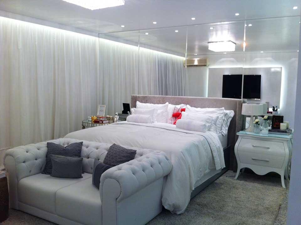 Decoração de Quartos de Casal moderno ~ Quarto Sala Moderno
