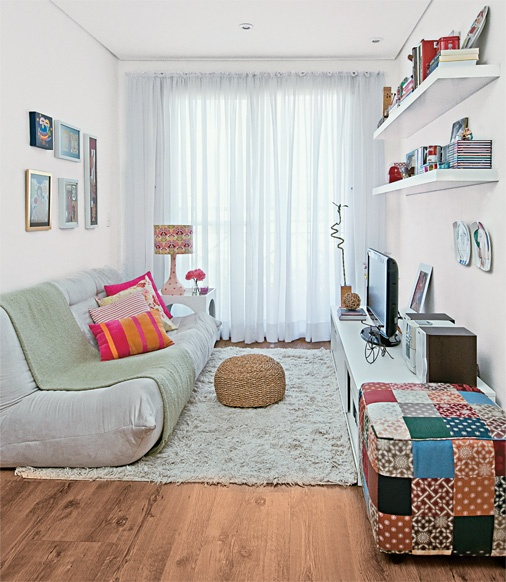 decoracao simples para ambientes pequenos : decoracao simples para ambientes pequenos:Salas De Estar Pequenas