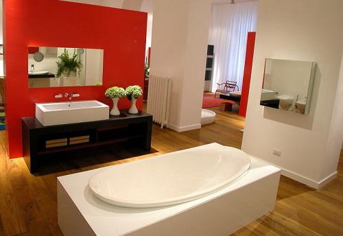 15 Modelos criativos para Decoração de Banheiros -> Banheiros Modernos Atuais