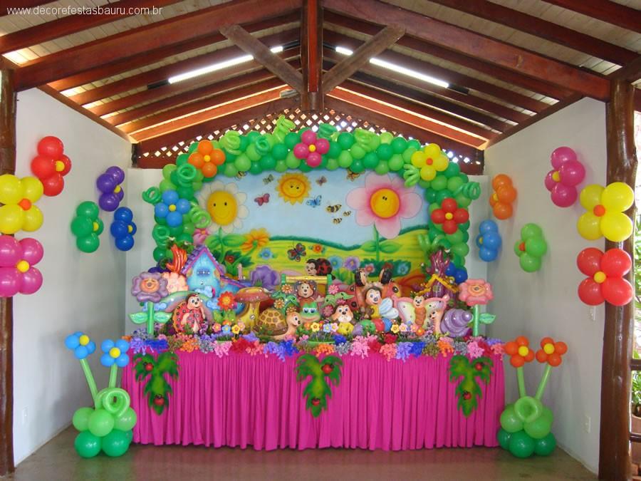 Decora O De Festa Infantil Tema Jardim Encantado Fotos