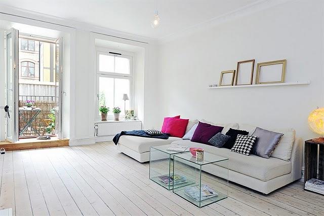 Ideias criativas para decora o de apartamentos pequenos for Decoracion departamento 2 ambientes
