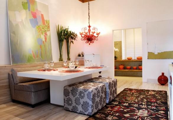 Ideias criativas para decora o de apartamentos pequenos for Mesas para apartamentos pequenos