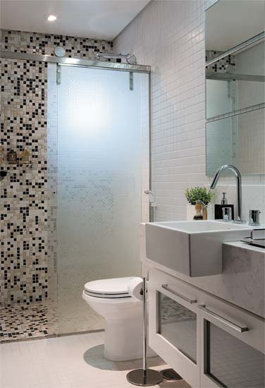 9 Modelos de Banheiros modernos e baratos -> Banheiros Modernos Pequenos E Baratos