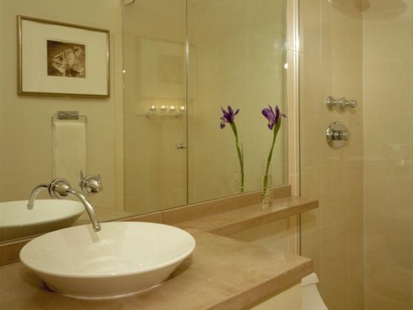 Decoração de Banheiros simples -> Banheiro Simples Com Cuba
