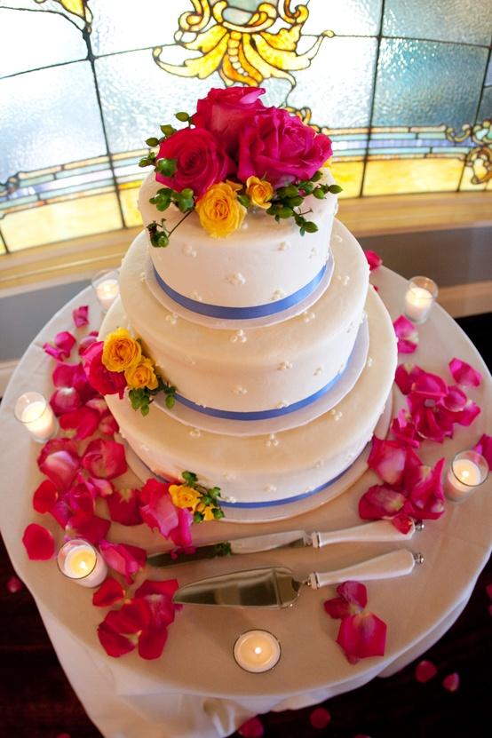 bolo-com-flor-para-casamento