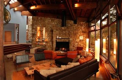 Sugest es para decora o de casas de campo - Casas rusticas por dentro ...