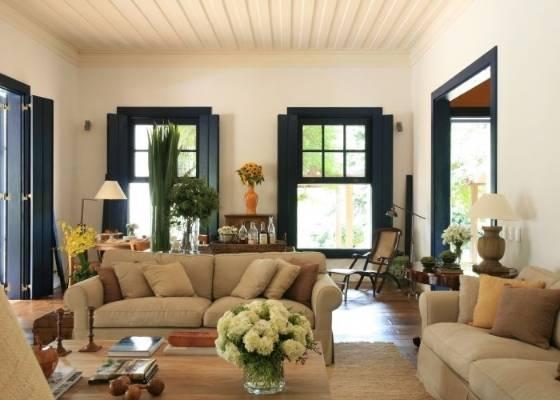 Como fazer a decora o de casas na fazenda for Casa rustica classica