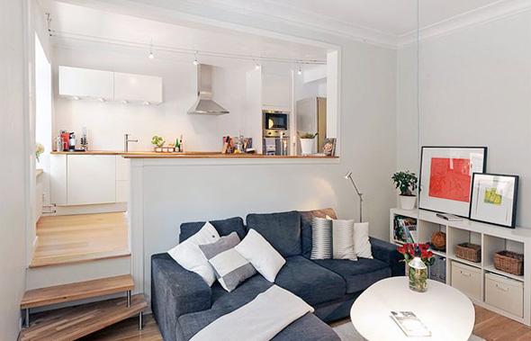 Ideias criativas para decora o de apartamentos pequenos Living modernos pequenos