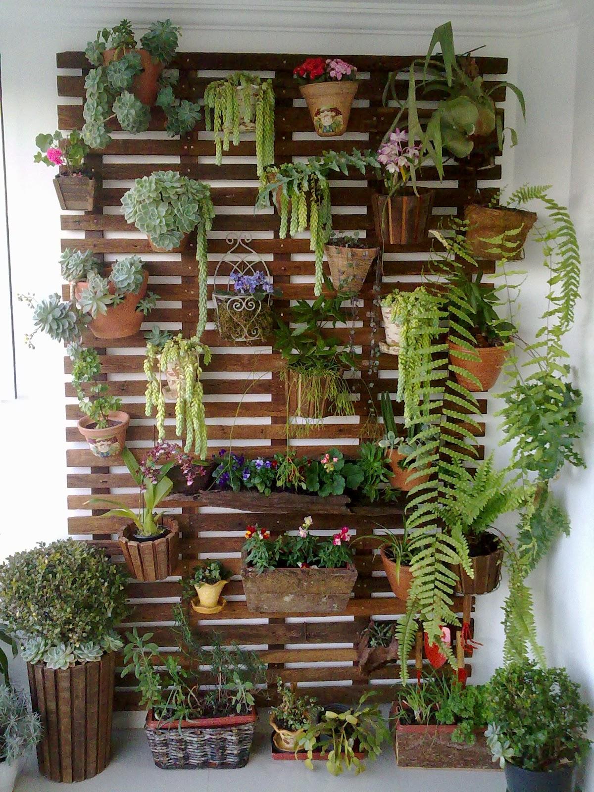 jardim vertical moderno:15 Modelos de Jardins verticais