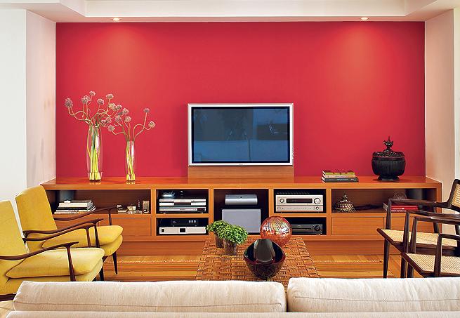 Ideias Para Pintar Uma Sala De Estar ~ Sugestões de Cores para pintar a sala