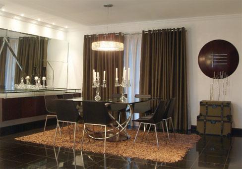 Cortinas para sala 18 modelos simples e modernas for Modelos de cortinas modernas para sala y comedor