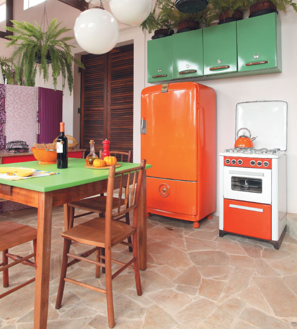 cozinha-vintage-colorida