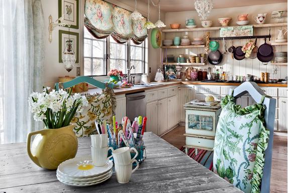 cozinha-vintage-romantica