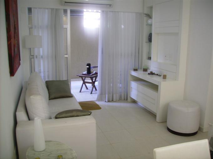Sala Pequena Decorada Branca ~ Decoração de Salas de apartamentos