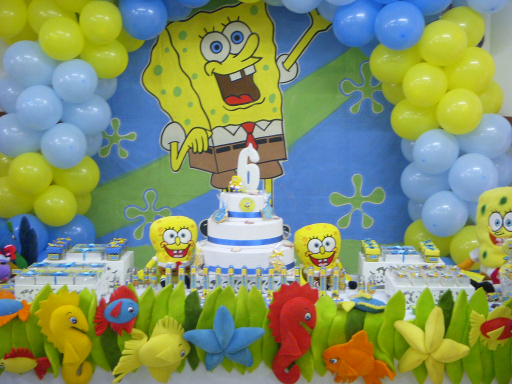 decoracao-bob-esponja-aniversarios