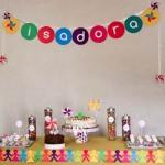 Decoração de festa infantil simples e barata