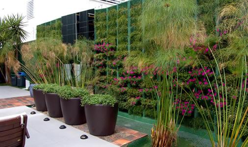 decoracao muros jardim:Decoração de Jardim externo – Modelos, Sugestões