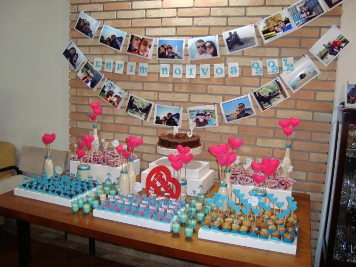 decoracao festa noivado:Dicas para Decoração de Noivados simples