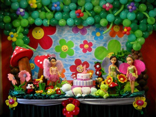 ideias de decoracao tema jardim : ideias de decoracao tema jardim:Decoração de festa infantil tema Jardim encantado: Fotos