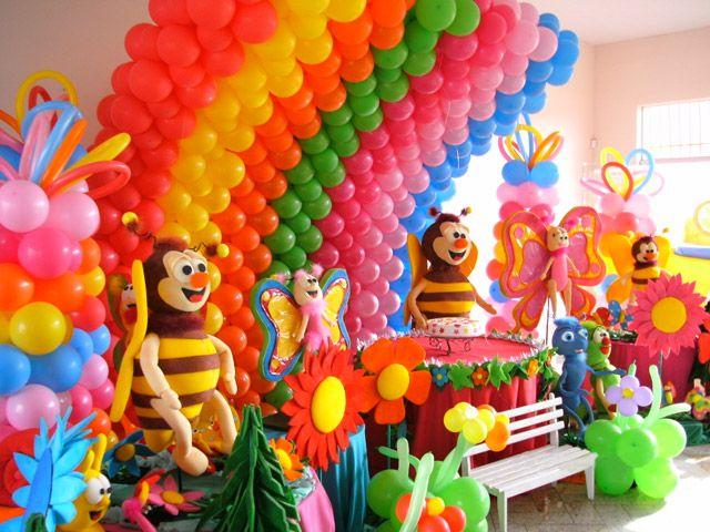 decoracao de festa infantil tema jardim:Decoração de festa infantil tema Jardim encantado: Fotos