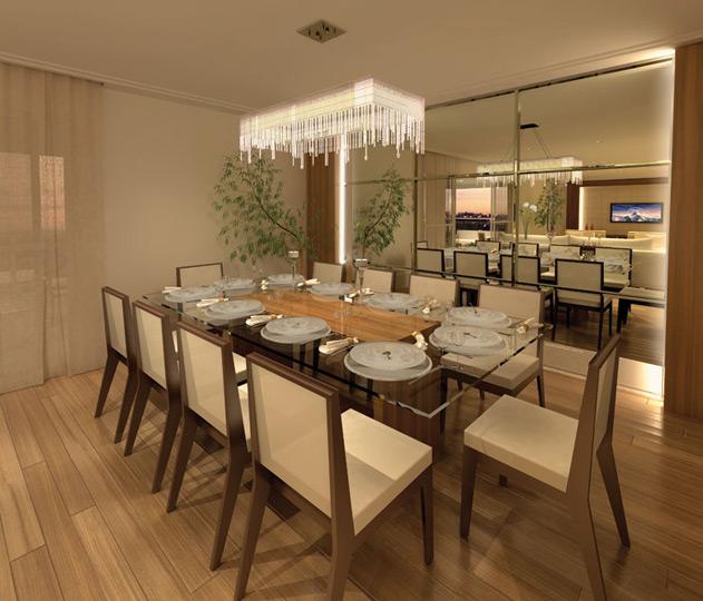 Espelho Para Sala De Jantar Em Bh ~ 21 Modelos de Salas de jantar decoradas