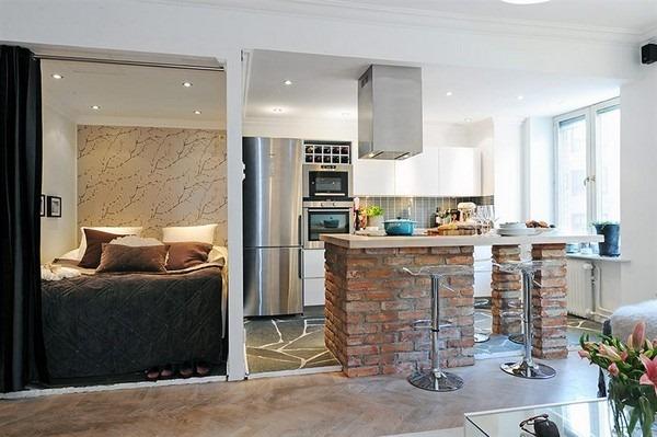 Ideias criativas para decora o de apartamentos pequenos for Ideas para apartamentos pequenos