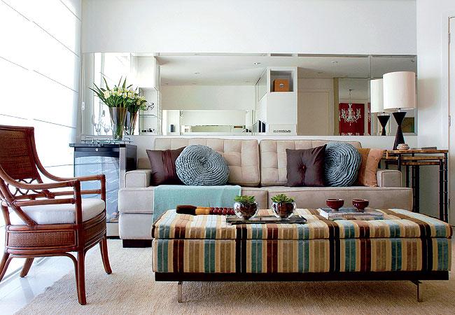 Ideias criativas para decora o de apartamentos pequenos for Como decorar un apartamento moderno
