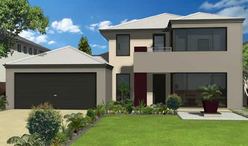 18 modelos de fachadas de casas modernas for Modelos de casas pequenas y bonitas