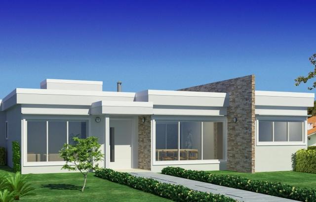 18 modelos de fachadas de casas modernas for Modelos de fachadas para casas