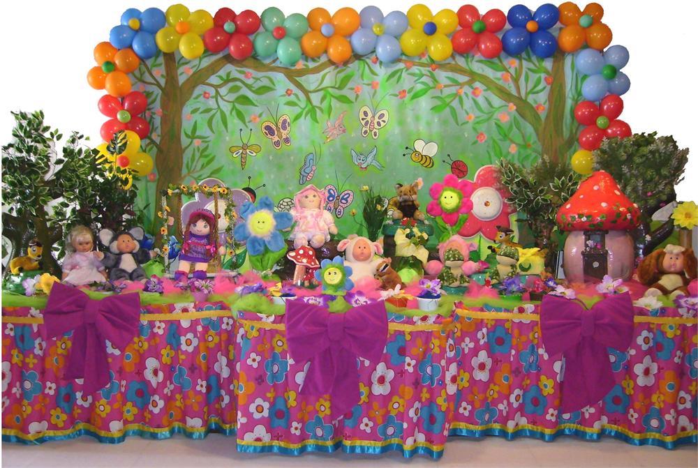 decoracao de festa tema jardim encantado:Tema De Festa Infantil Jardim Encantado