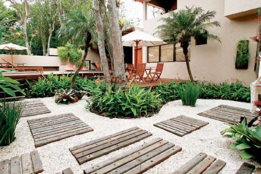 imagens paisagismo jardins:Decoração de Jardim externo – Modelos, Sugestões