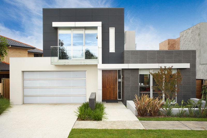 30 modelos de frentes de casas On modelos de frentes de casas modernas