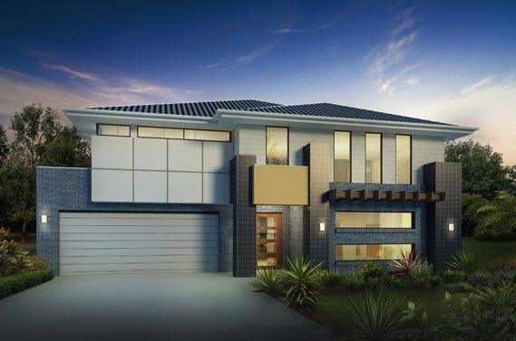 30 modelos de frentes de casas for Modelos de casas de 2 pisos