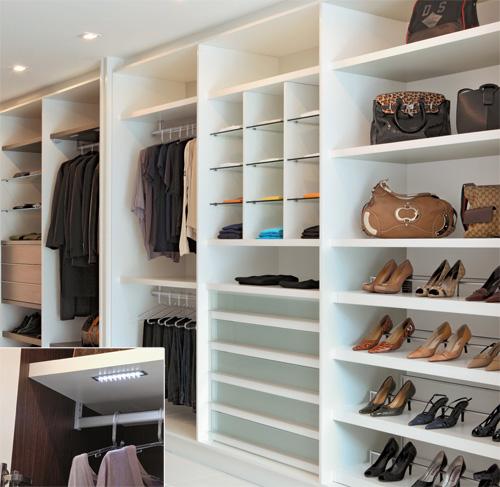 13 modelos de guarda roupas planejados for Modelos de closets para dormitorios