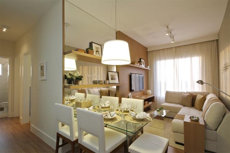 decoracao de ambientes pequenos apartamentos:Sala De Jantar Pequena